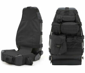 Smittybilt Gear Jeep Seat Covers Pair Black