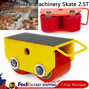 2 5t 5500lb 2500kg Machinery Mover Heavy Machine Dolly Equipment Roller Skates