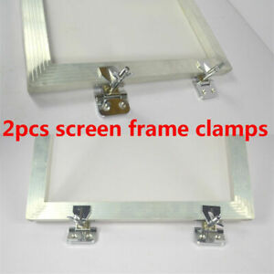2pcs Screen Frame Butterfly Hinge Clamp Screen Frame Hinge Clamp Durable Newest