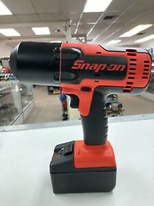 Snap On Ct88500 18v Cordless 1 2 Impact Wrench With 2 Batteries