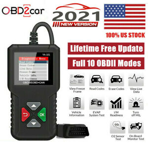 Automotive Obd Code Reader Obd2 Scanner Car Engine Fault Diagnostic Tool Us Ship