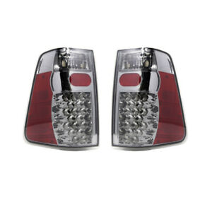 Fits For Fits 04 13 Nissan Titan Led Rear Tail Lights Pair Smoke