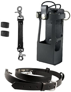 Boston Leather Bundle Three Items Anti Sway Strap For Radio Strap Firefighte