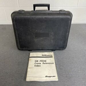 Snap On Tools Mt2500 Deluxe Diagnostic Scanner Molded Black Hard Case