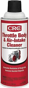 Crc 05078 Throttle Body And Air Intake Cleaner 12 Ounce Can
