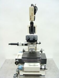 Leitz Mcbain Z scope Inspection Microscope W Trinocular Head Motorized Stage
