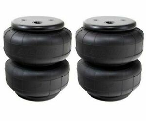 Airlift D2600 Dominator Two Air Bags Single Port 1 2 Npt Air Springs Suspension