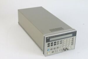 Hewlett Packard 8904a Multifunction Synthesizer Waveform Generator Dc 600khz