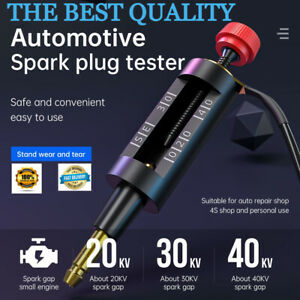 Adjustable Spark Plug Tester Energy Ignition Wire Coil Circuit Diagnostic Tool