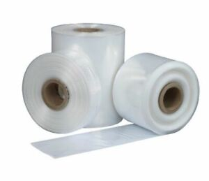 Poly Tubing Clear Bags Roll 1 5 Mil 2 3 4 6 Mil 2 4 6 8 10 12 14 16 18