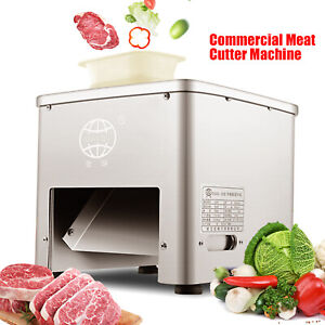 Commercial Electric Meat Slicer Meat Cutter Cutting Machine Blade Diameter 85mm
