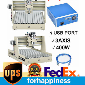 3 Axis 3040 Engraving Milling Machine Usb Cnc Router Engraver Carving Ballscrew