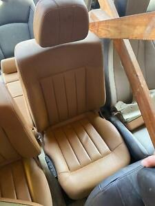 2010 16 Mercedes E Class E350 Left Front Assembly Seat Brown Leather