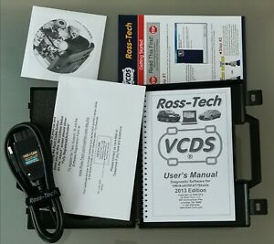 Brand New Ross Tech Hex Can Usb Vcds Interface Unlimited Vin Genuine Vag Com