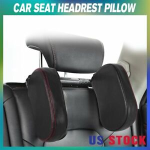 Adjustable Car Seat Headrest Pillow Head Neck Support Rest Sleep Side Cushion