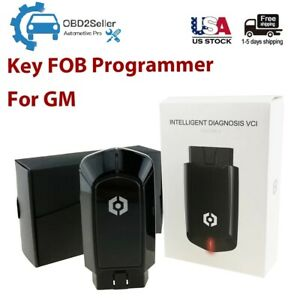 Car Key Fob Programmer For Gm Keyless Entry Remote Tool Obd2 Scanner Diagnostic