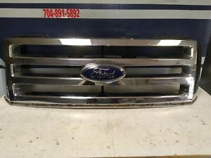 07 14 Ford Expedition Front Upper Grille Grill Oem 2007 2014