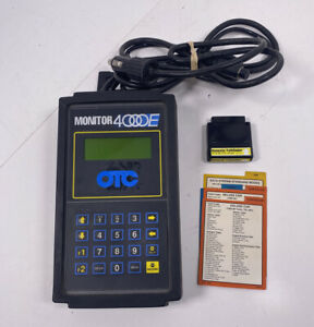Otc Monitor 4000e Diagnostic System Scan Tool Manuals Pathfinder