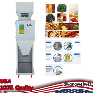 Auto Powder Racking filling Machine Weigh Filler For Seed Grain Tea 10 999g 200w