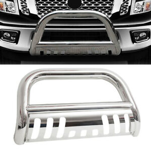 3 Bull Bar Push Bumper Grille Guard For Nissan Frontier Pathfinder Xterra 05 19