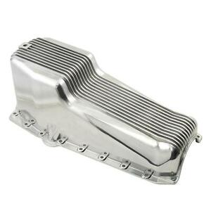 Mr Gasket 5415 Aluminum Oil Pan 1955 79 Sbc