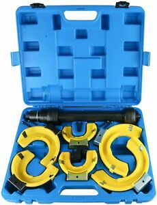 Macpherson Strut Spring Compressor Kit Interchangeable Fork Coil Extractor Tool