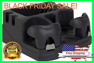 Universal Floor Car Center Console Storage Organizer Box Holder Cup Armrest Auto