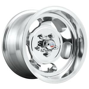 Us Mags U10115906550 Indy Wheel 15x9 High Luster Polished