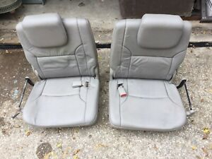2003 2009 Toyota 4runner 3rd Rear Row Seats Gray Leather Local Pick Up Only