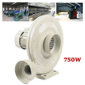 750w Dust smoke smell wood Chip Exhaust Blower Fan For Laser Engraving Machine