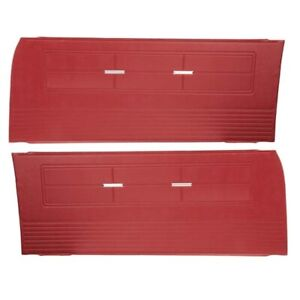 Pui 63xd64 Repro Inner Door Panels 63 Chevy Ii nova Pair