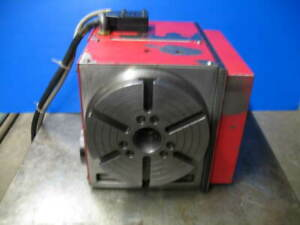 Haas Hrt 210 4th Axis Rotary Table Cnc Mill 17pin Connection Indexer vgc