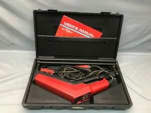 Snap On Mt 1261a Computerized Tach Advance Timing Light With Case Mt1261a