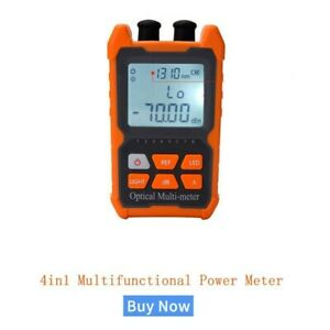 Optical Power Meter Visual Fault Locator Network Cable Test Optical Fiber Tester
