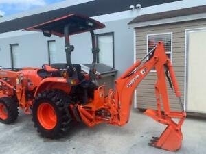Kubota Tractor L3901 Hst Low Hours 4x4 2016 140 Hours