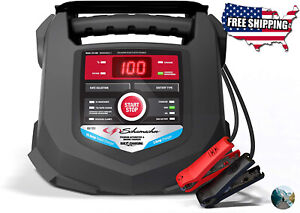 Car Battery Charger 15 amp Jump Starter Vehicle Tool Automotive Power Source New