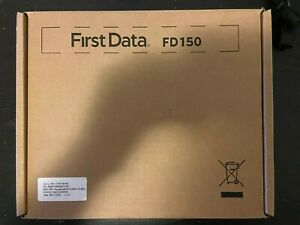 Firstdata First Data Fd150 Terminal Emv Nfc Used