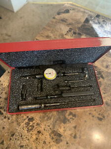 Starrett Last Word 711 Indicator With Attachments And Box