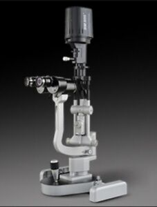 Haag Streit Bm 900 Led Slit Lamp With Table Working Optometry Ophthalmology