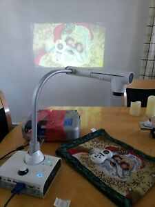 Elmo Tt 12id Interactive Document Camera Digital Presenter Power Adapter Remote
