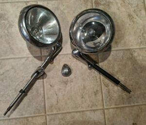 Pair Of Vintage Unity S6 Spot Lights