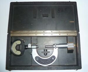 Nice Mahr 1 2 Indicating Micrometer In Factory Box Accurate To 0 0001