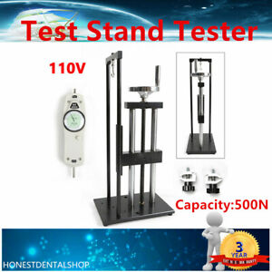 Manual Force Tester Test Stand Push pull Force Gauge Tester Stand 500n Test