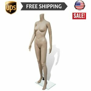 Hot Mannequin Women W Stand Adult Female Full Size Headless Store Display