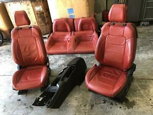 2015 2017 Ford Mustang Front Seat Bucket Cloth Electric