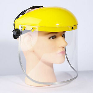 Anti Fog Welding Face Shield Comfortable Head mounted Soldering Face Protector
