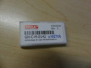 Heule Replacement Blade For Cofa6x Holder Gh c m 0142 3 Pieces In Box
