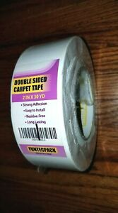 New Funtecpack Double Sided Heavy Carpet Tape 2 inch X 30 Yards