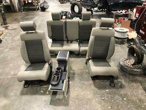 2007 2010 Jeep Wrangler Front Seat Lhd Bucket Manual Cloth