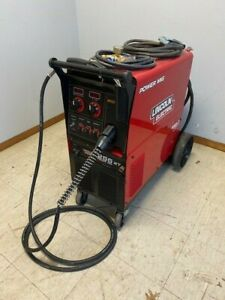 Lincoln Power Mig 255xt Single phase Mig Welding Welder Package